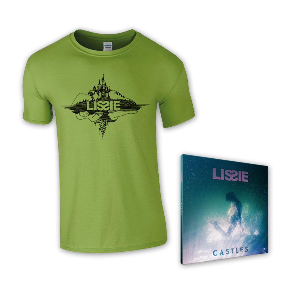 Buy Online Lissie - Castles CD + T-Shirt
