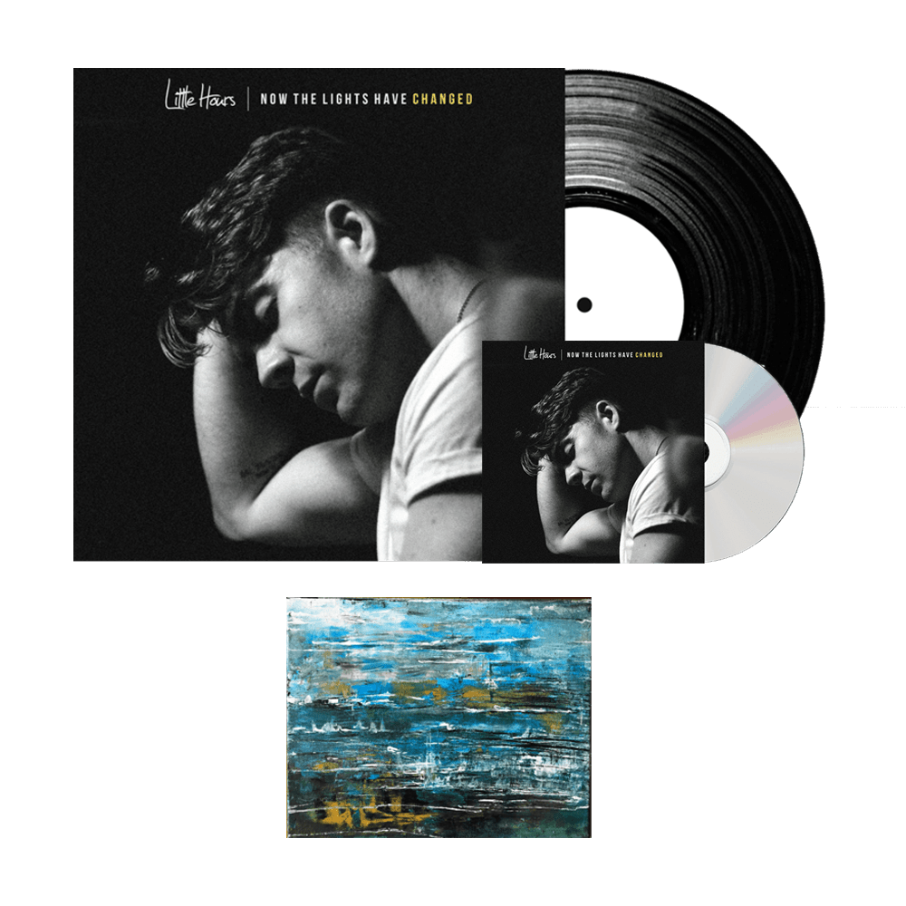 Buy Online Little Hours - Now The Lights Have Changed CD + Vinyl Bundle + Signed Print