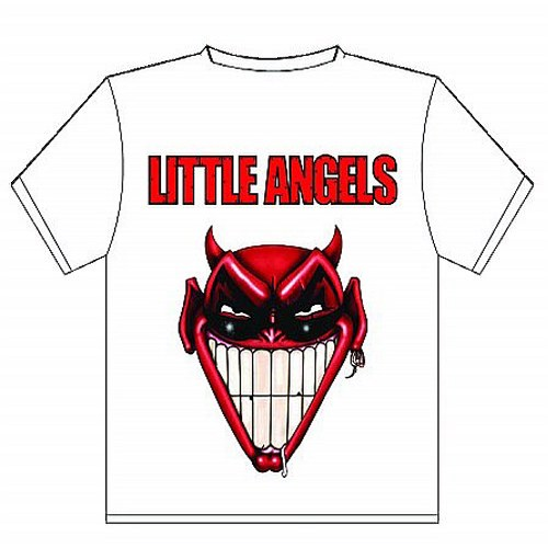 Buy Online Little Angels - Downloading T-Shirt White