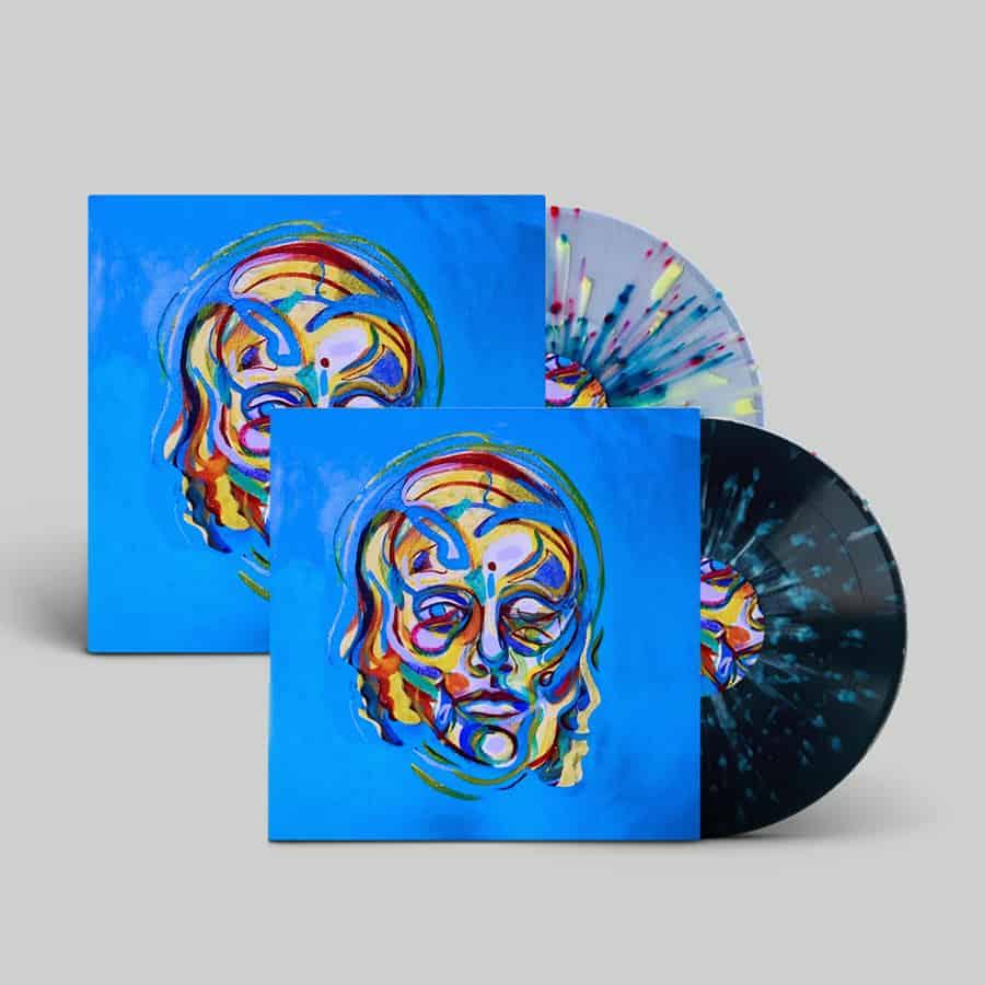 Buy Online Lonely The Brave - The Hope List (Transparent Blue Splatter Vinyl + Black Splatter Vinyl)