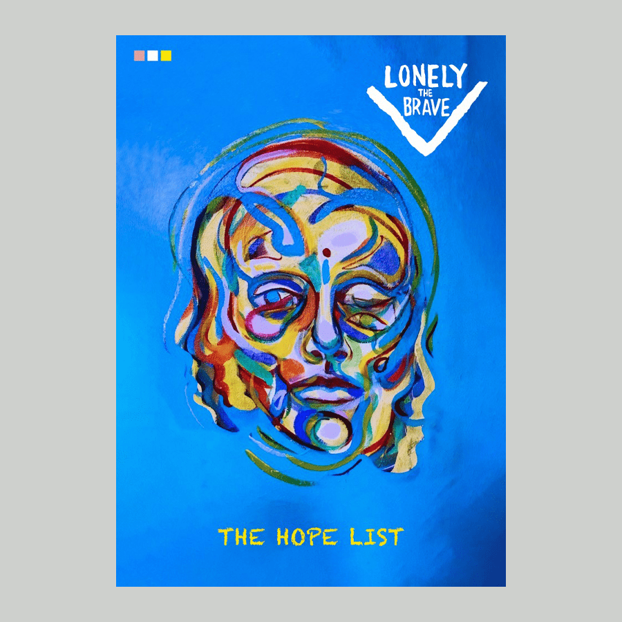 Buy Online Lonely The Brave - The Hope List Signed, Numbered 300gsm Print