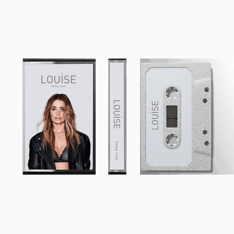 Buy Online Louise - Heavy Love Silver Glitter