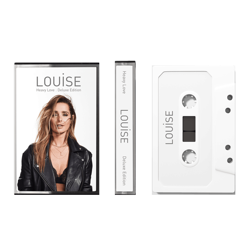 Buy Online Louise - Heavy Love Deluxe White Cassette (Ltd Edition)