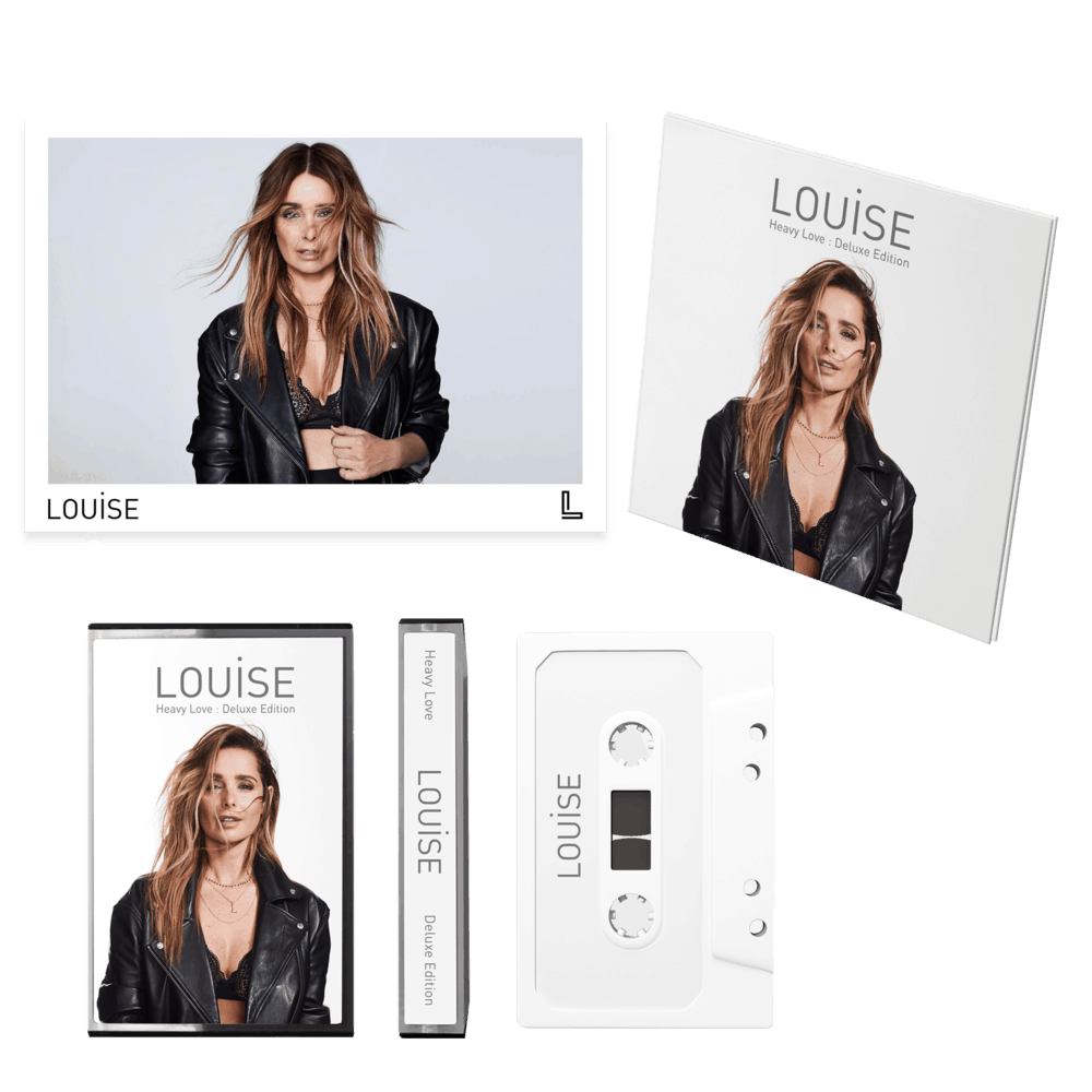 Buy Online Louise - Heavy Love - Deluxe CD, Ltd Deluxe Cassette & Signed Photo bundle