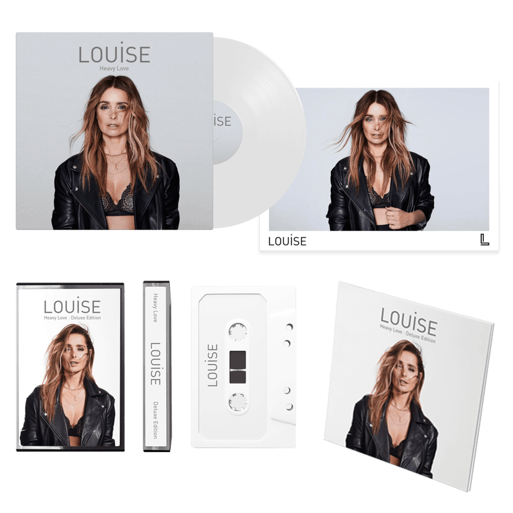 Buy Online Louise - Heavy Love - Deluxe CD, Ltd White LP, Ltd Cassette & Signed Prints Bundle