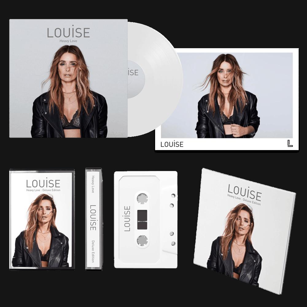 Buy Online Louise - Heavy Love - Deluxe CD, Ltd White LP, Ltd Cassette & Signed Prints Bundle