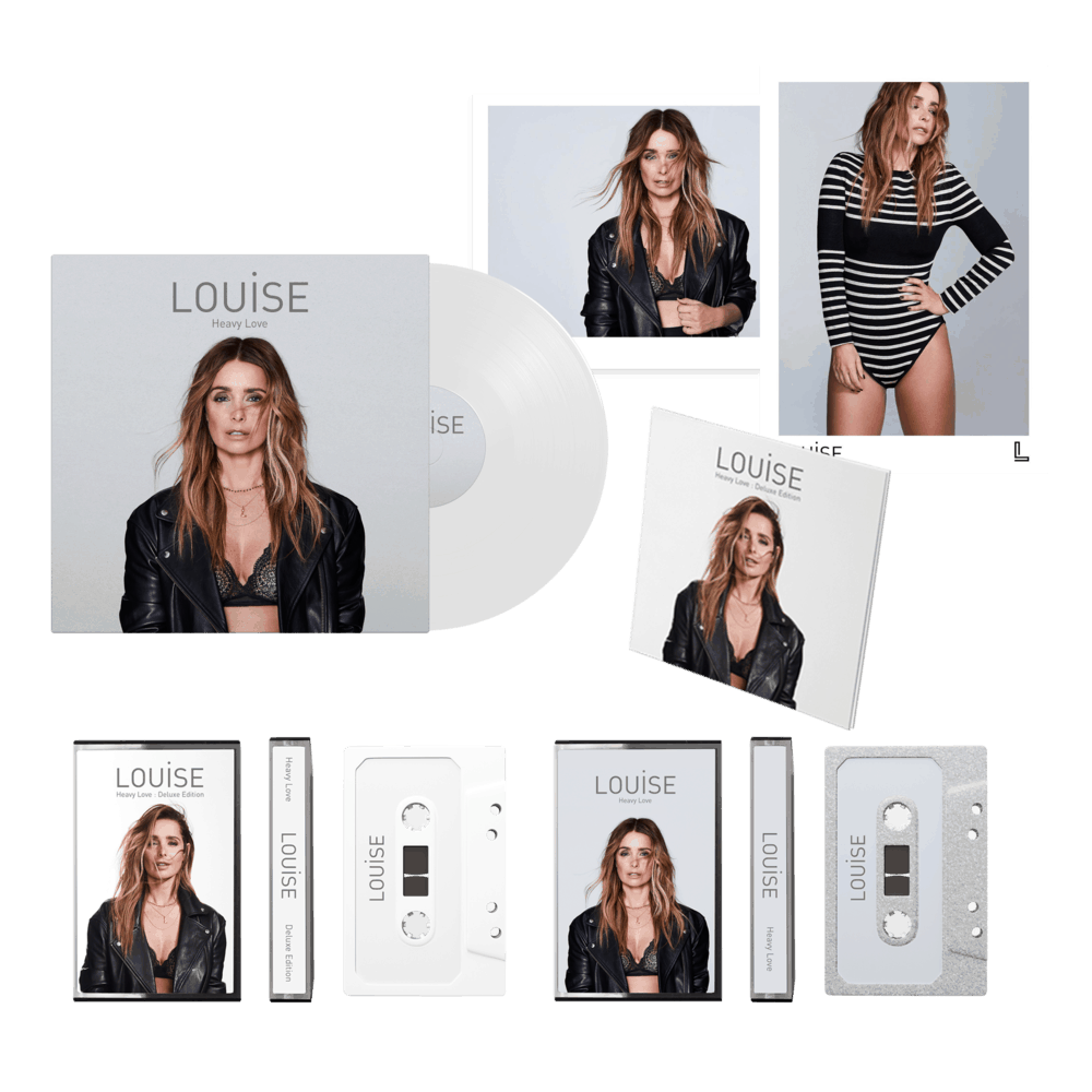 Buy Online Louise - Heavy Love - Deluxe CD, Ltd White LP, Both Cassettes & Signed Prints Bundle