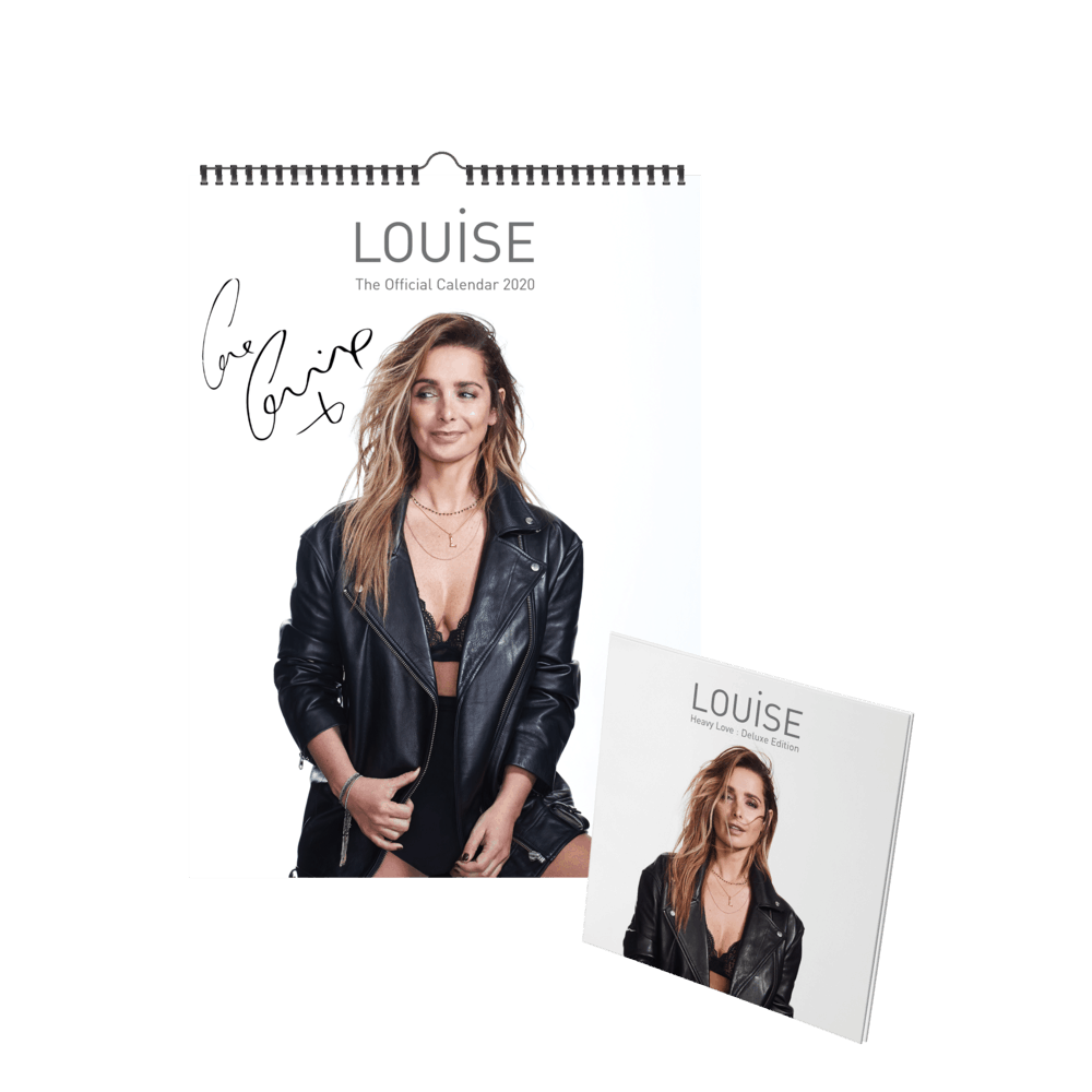 Buy Online Louise - 2020 A3 Calendar (Signed) + Deluxe CD