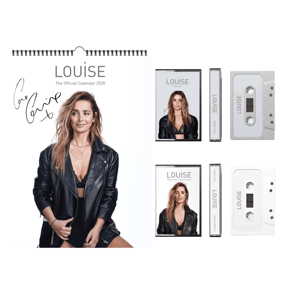 Buy Online Louise - 2020 A3 Calendar (Signed) + Both Cassettes