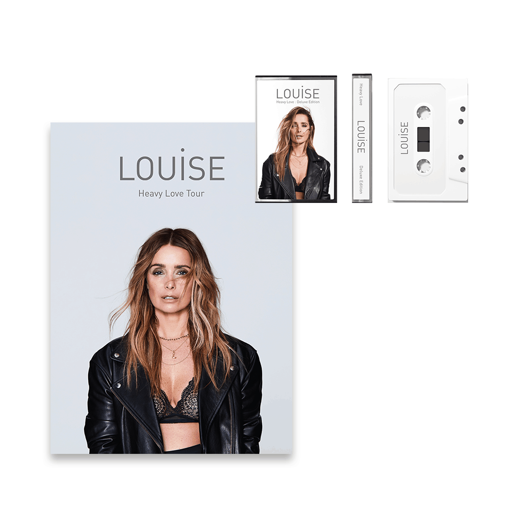 Buy Online Louise - Heavy Love Deluxe White Cassette +  (Signed) Programme