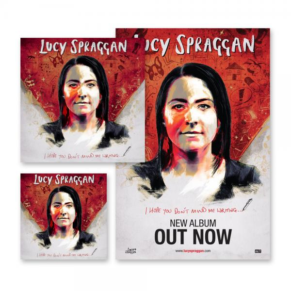Buy Online Lucy Spraggan - I Hope You Don't Mind Me Writing CD + Vinyl + Poster