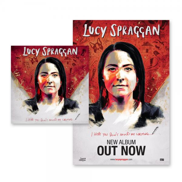 Buy Online Lucy Spraggan - I Hope You Don't Mind Me Writing Vinyl LP + Poster