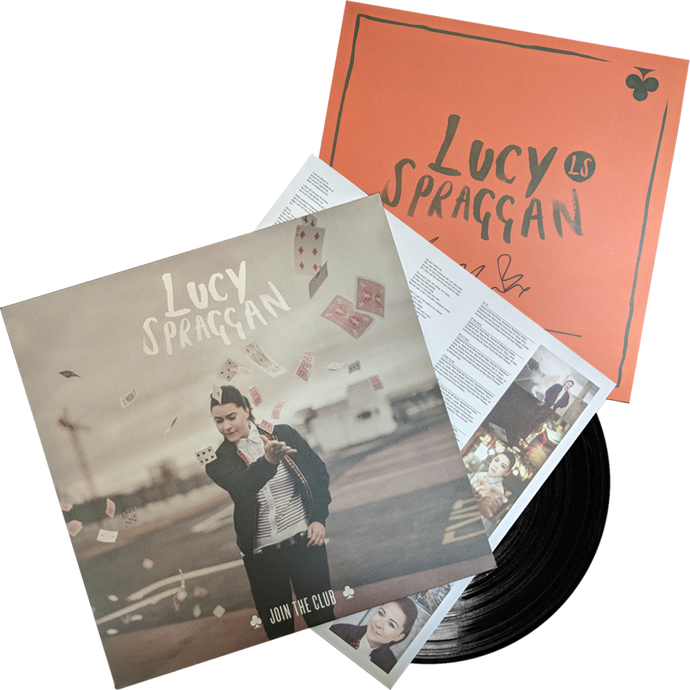 Buy Online Lucy Spraggan - Join The Club Vinyl (Includes Join The Club 12x12 Signed Print)