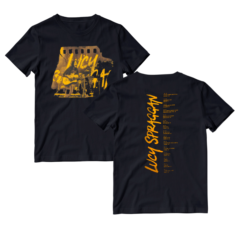 Buy Online Lucy Spraggan - 2018 Tour T-Shirt