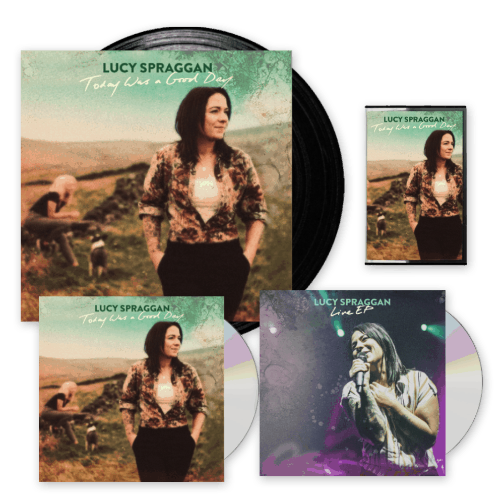 Buy Online Lucy Spraggan - Today Was A Good Day Signed CD + Black Vinyl + Cassette + Exclusive EP