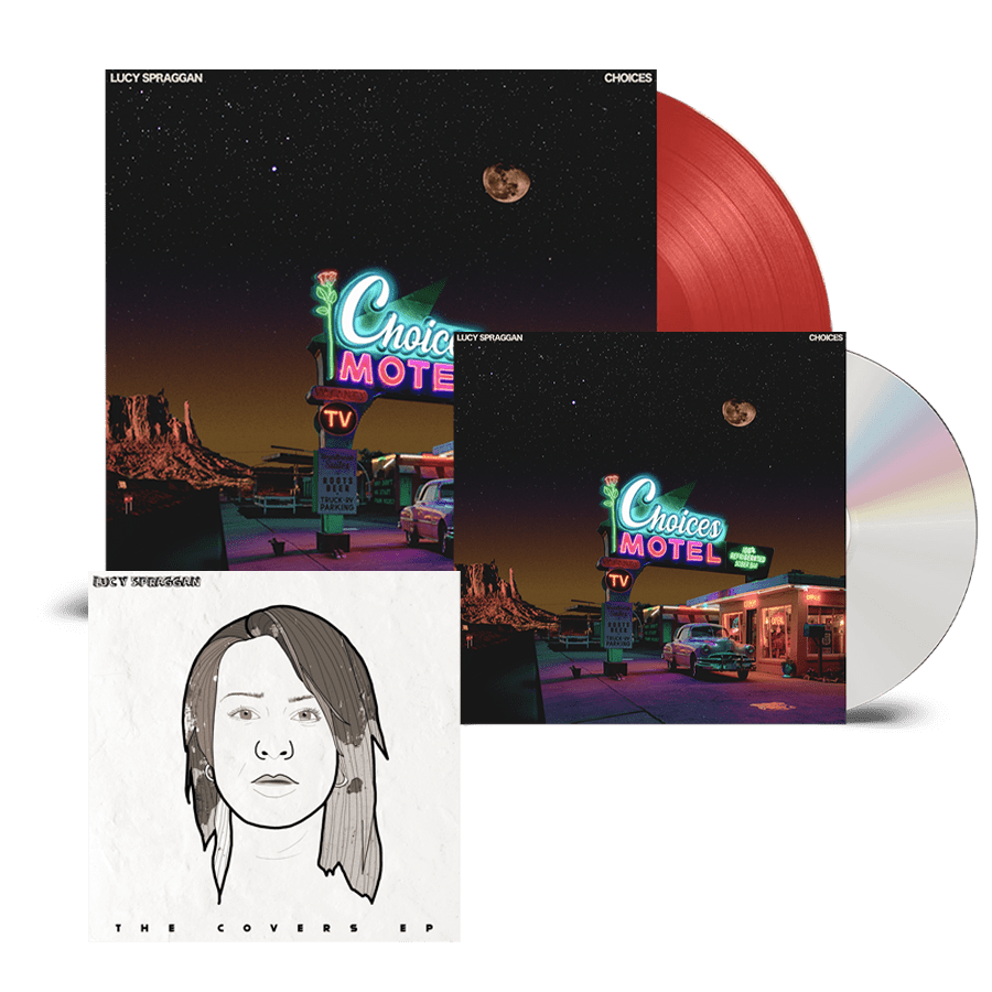 Buy Online Lucy Spraggan - Choices CD + Coloured Vinyl (Inc Bonus Covers EP)