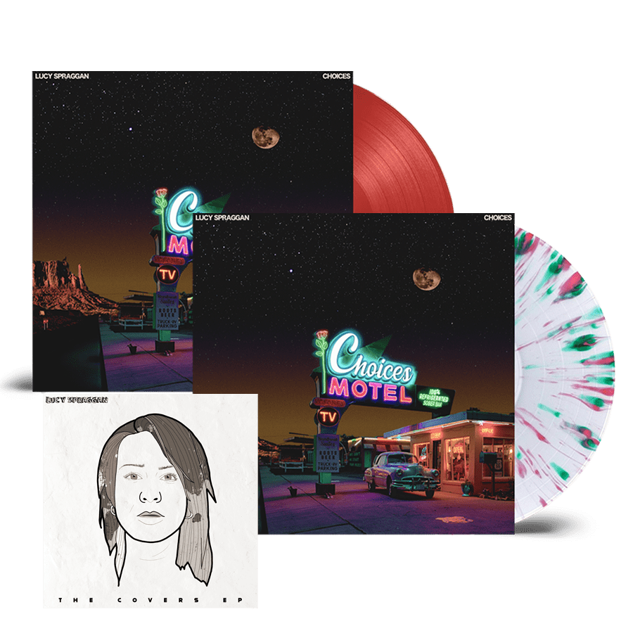 Buy Online Lucy Spraggan - Choices Coloured Vinyl + Clear Splatter Vinyl (Inc Bonus Covers EP)