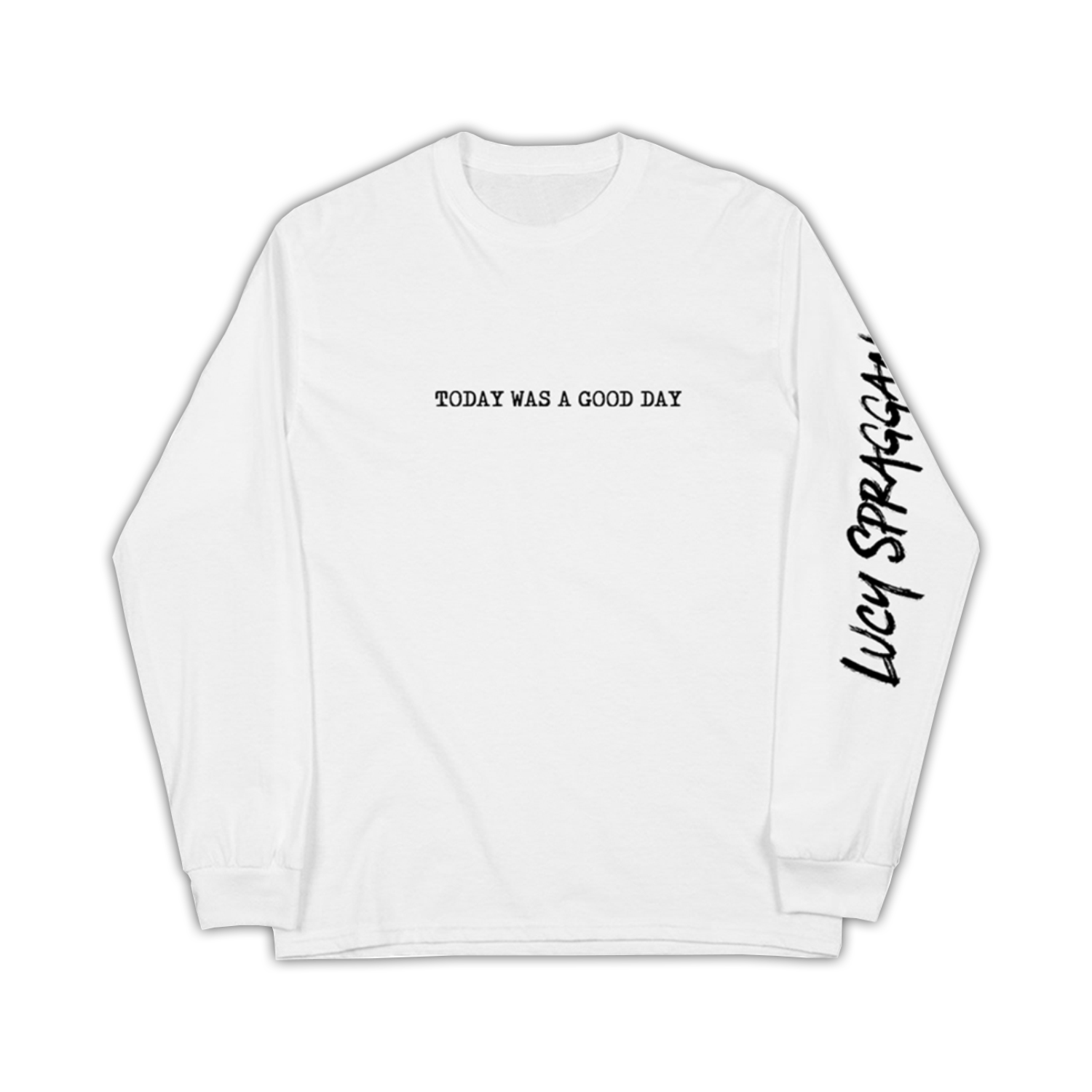 Buy Online Lucy Spraggan - Today Is A Good Day White Longsleeve
