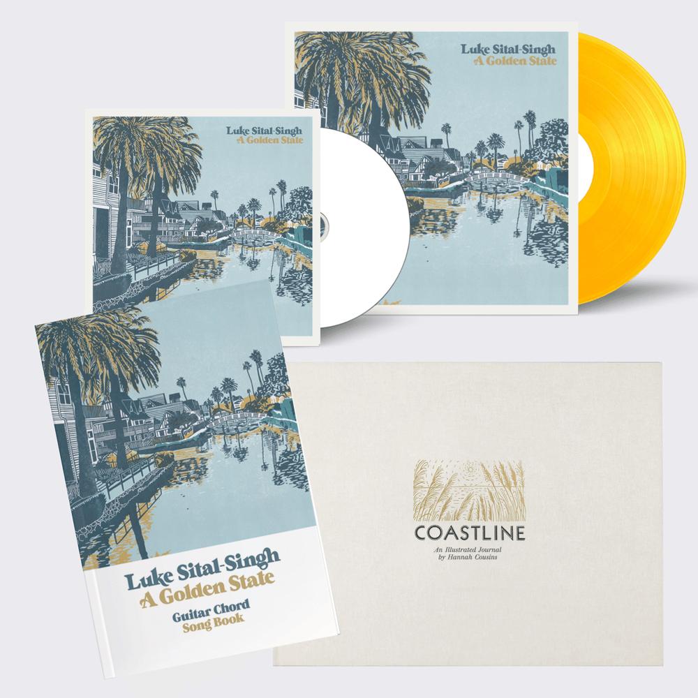 Buy Online Luke Sital-Singh - CD - Vinyl - Coastline Book - Guitar Chord & Lyric Book