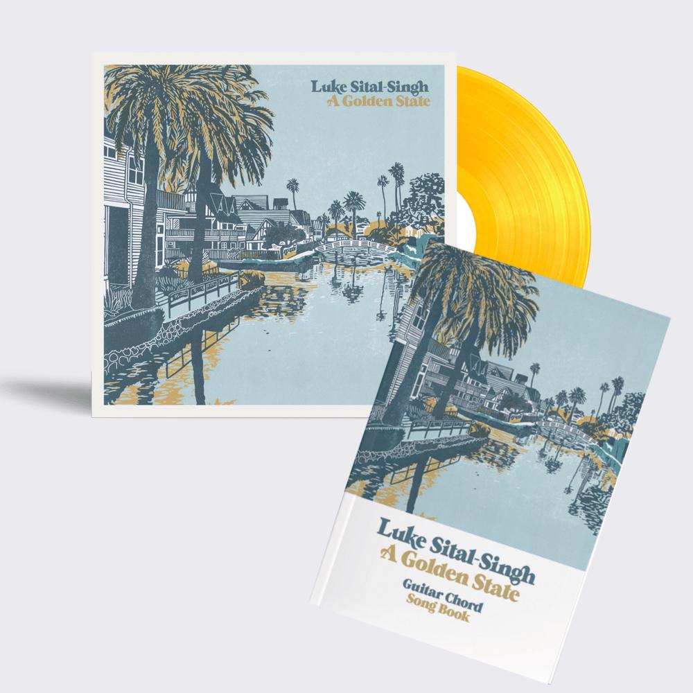 Buy Online Luke Sital-Singh - Letterpressed Outersleeve Vinyl + Guitar Chord & Lyric Book
