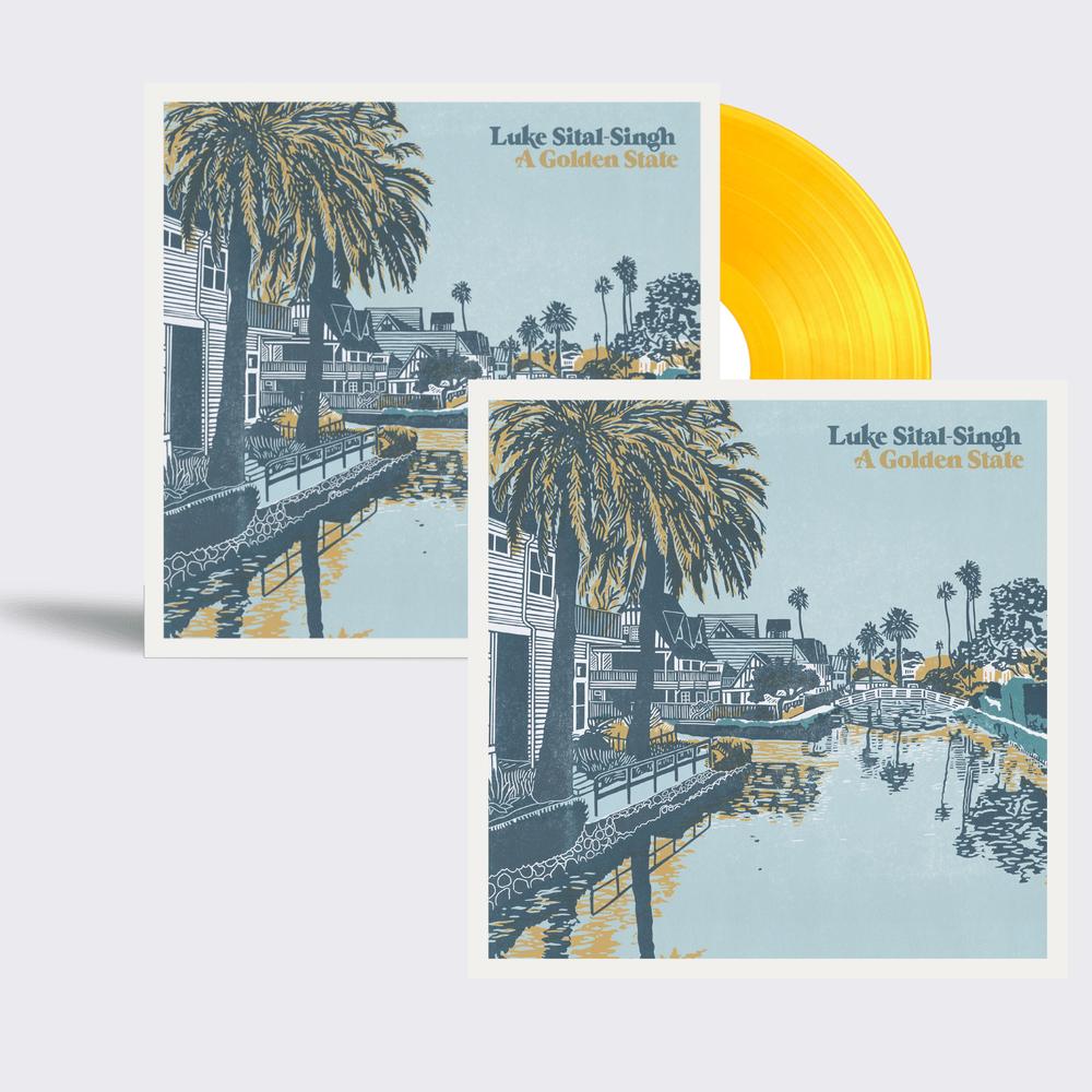 Buy Online Luke Sital-Singh - Letterpressed Outersleeve Vinyl + Art Print