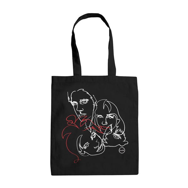 Buy Online Lush - Faces Tote Bag