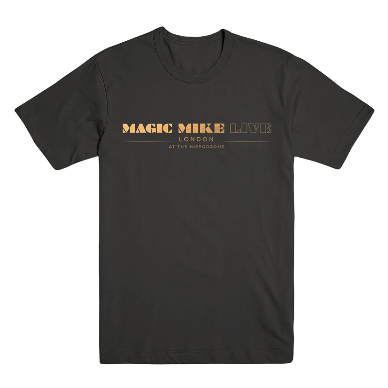 Buy Online Magic Mike London - Black Unisex Logo T-Shirt