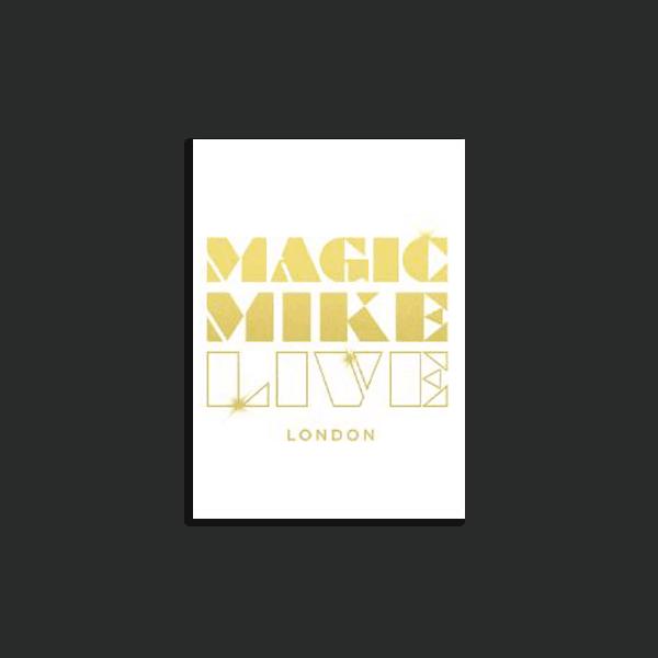 Buy Online Magic Mike London - Magnet