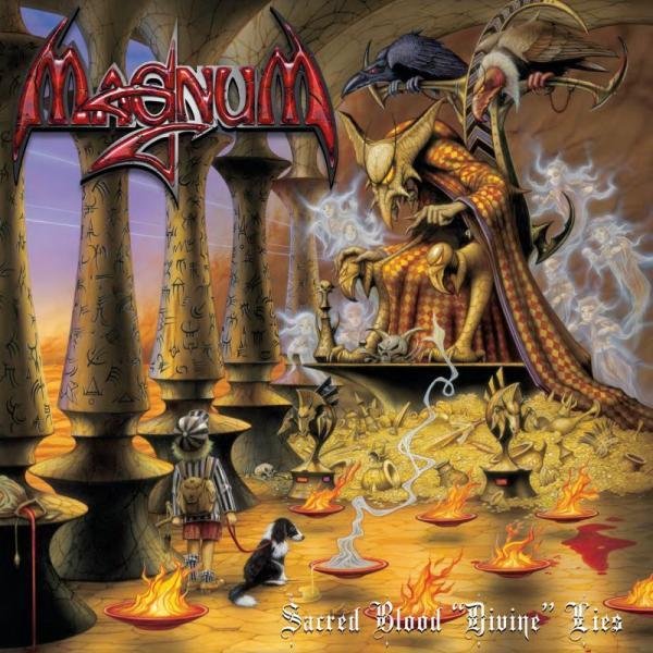 "Sacred Blood ""Divine"" Lies (2xBlue Vinyl) (W/Signed Lyric Sheet)"