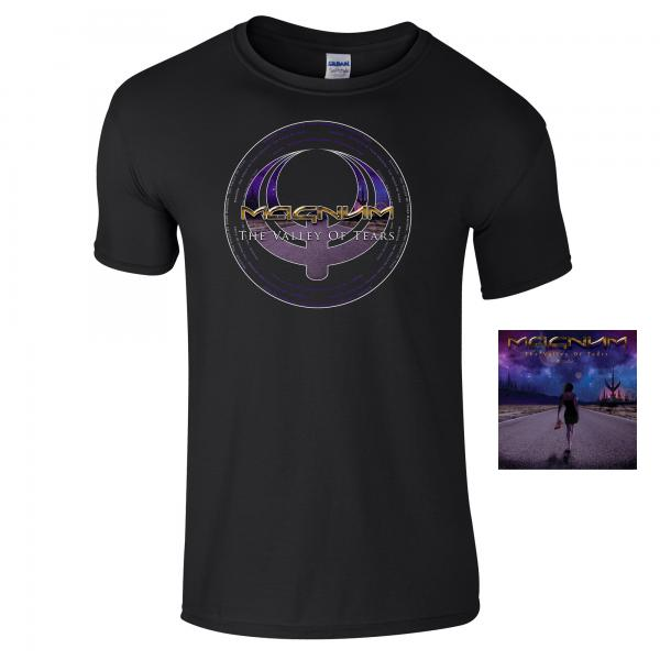 Buy Online Magnum - The Valley Of Tears - The Ballads CD & T-Shirt Bundle