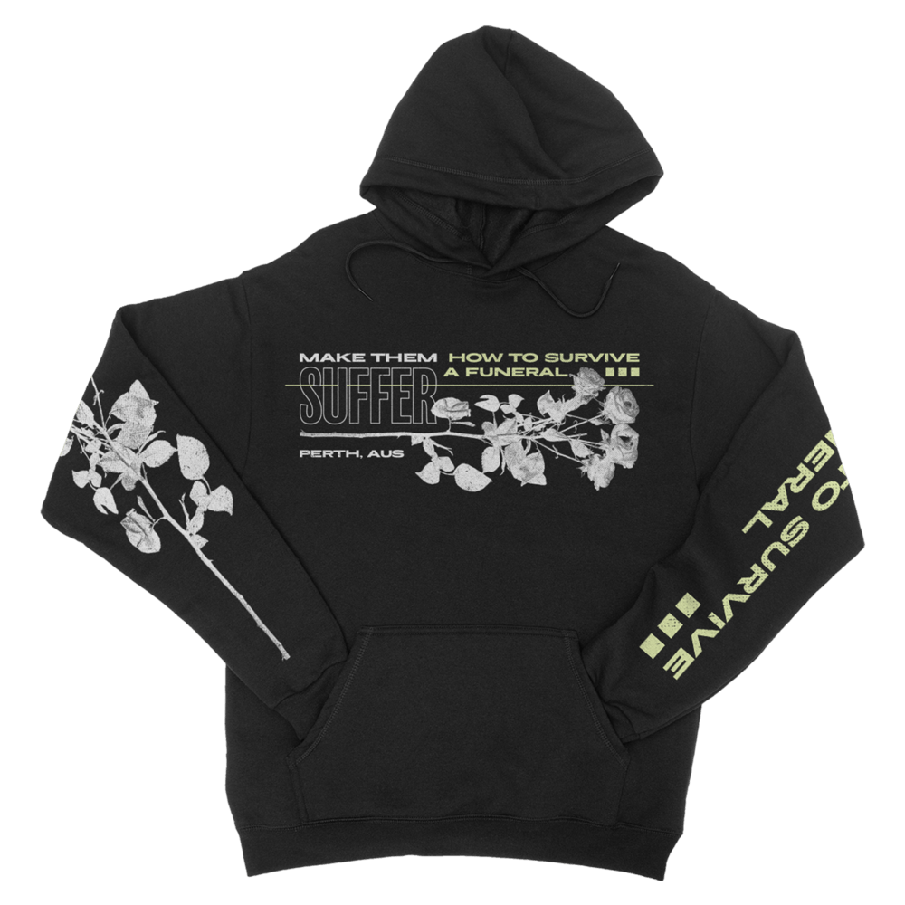 Buy Online Make Them Suffer - How To Survive A Funeral Hoodie