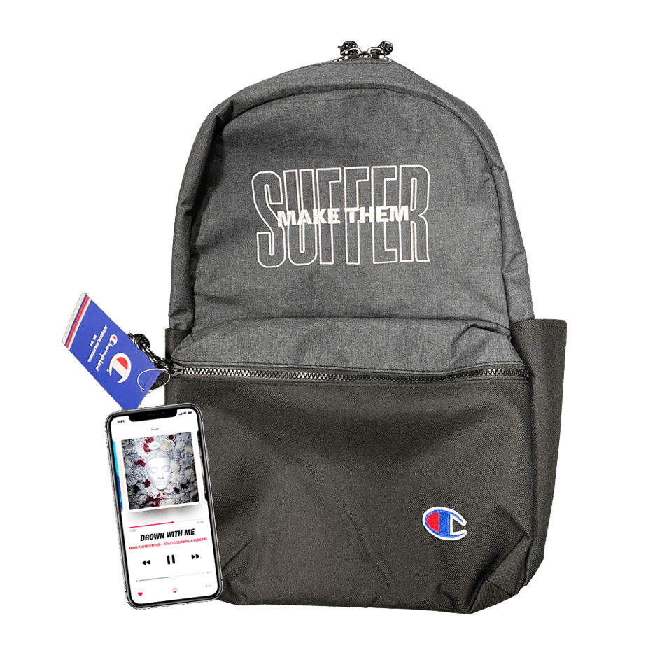 Buy Online Make Them Suffer - Limited Edition Embroidered Backpack + Album Download
