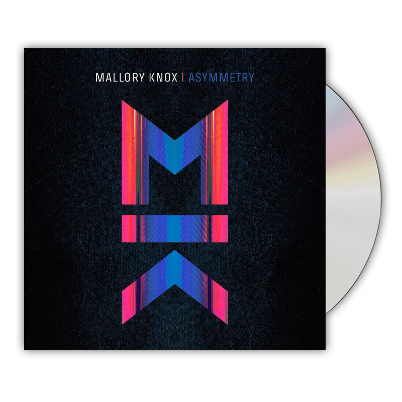 Buy Online Mallory Knox - Asymmetry CD Album