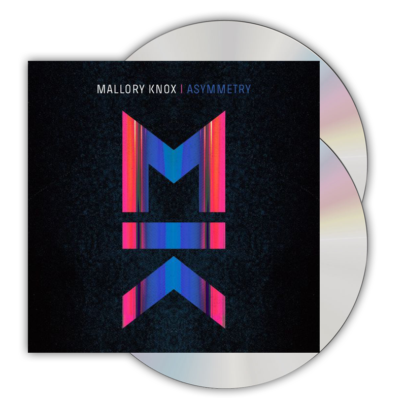 Buy Online Mallory Knox - Asymmetry Deluxe CD Album