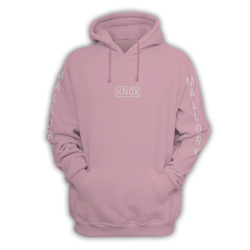 Buy Online Mallory Knox - Knox Pink Hoody