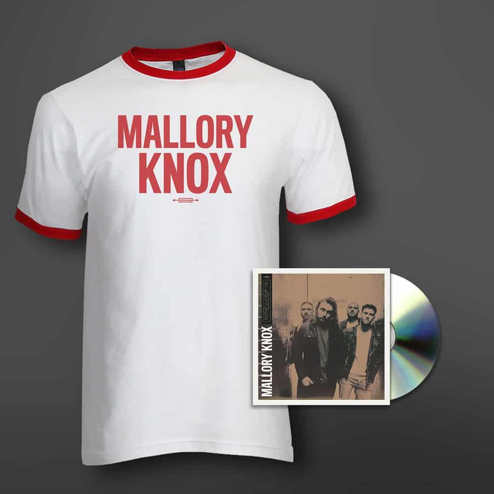 Buy Online Mallory Knox - Mallory Knox  CD + T-Shirt Bundle