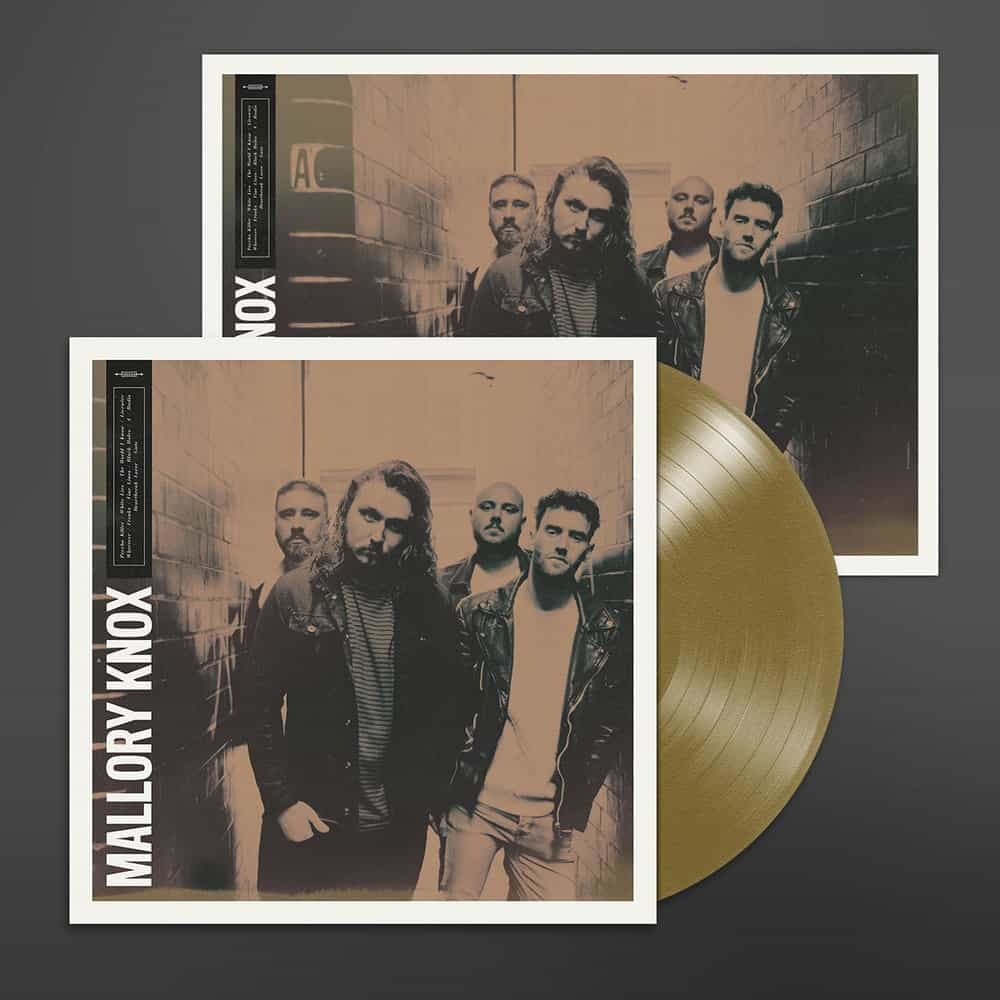 Buy Online Mallory Knox - Mallory Knox Aztec Gold Vinyl + A3 Print (Signed)