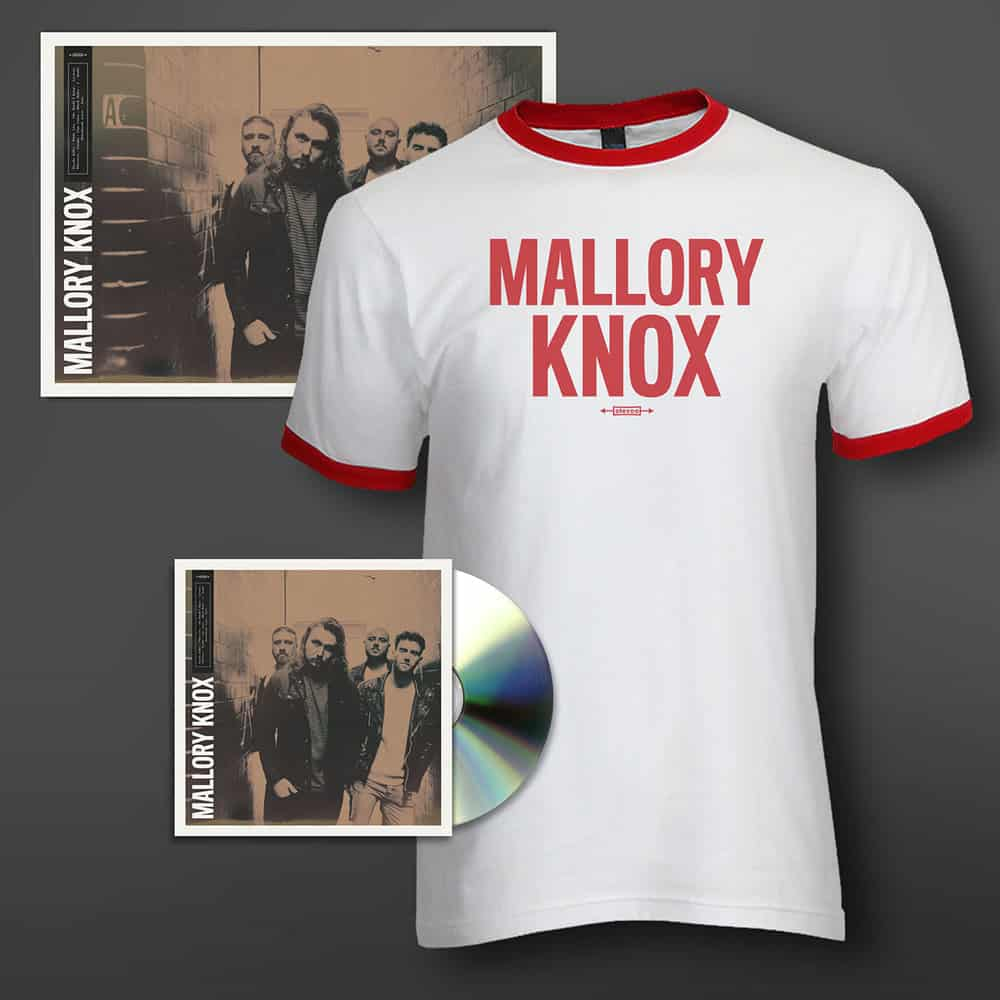 Buy Online Mallory Knox - Mallory Knox CD + Art Print (Signed) + T-Shirt