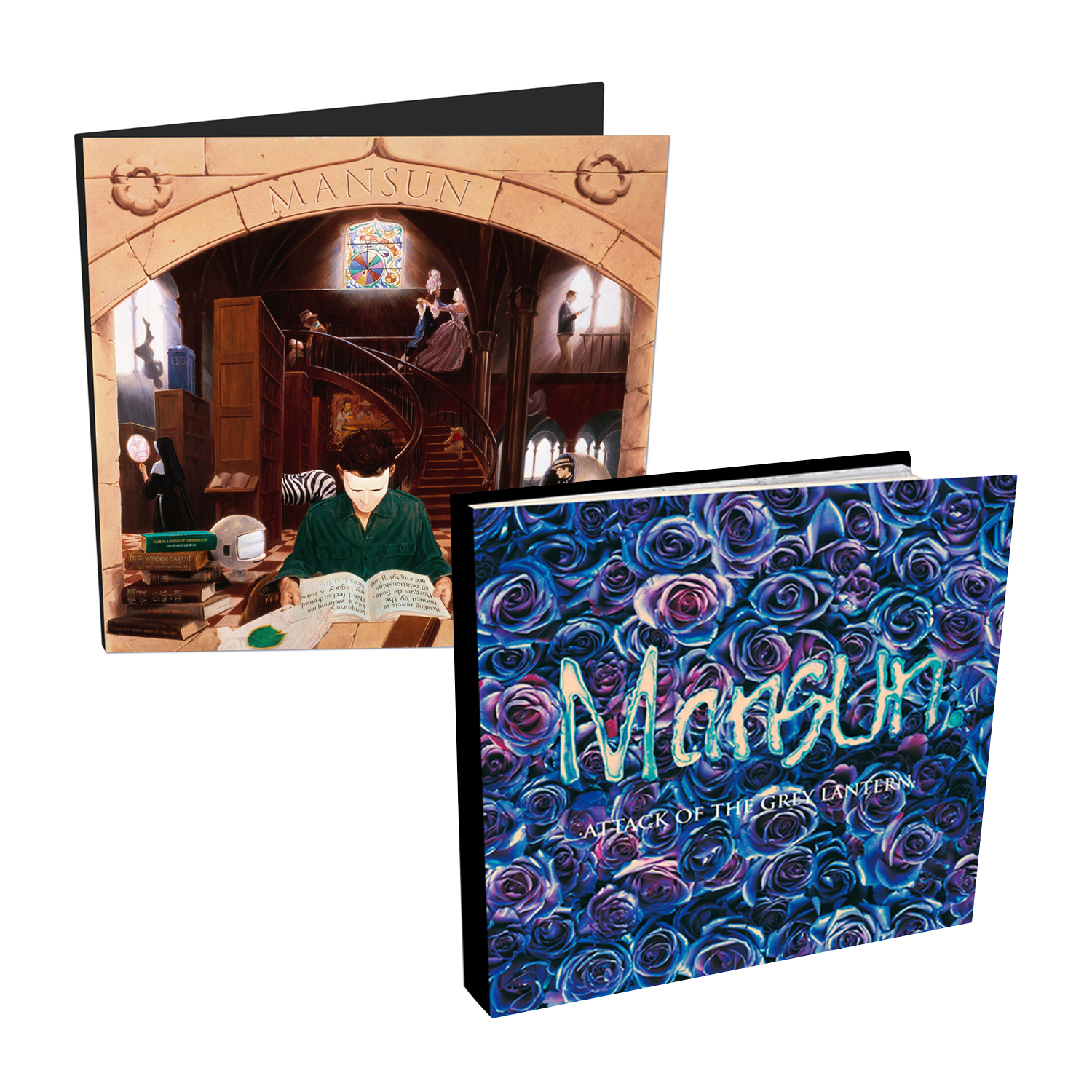 Buy Online Mansun - SIX CD Media Book + Attack Of The Grey Lantern CD Media Book