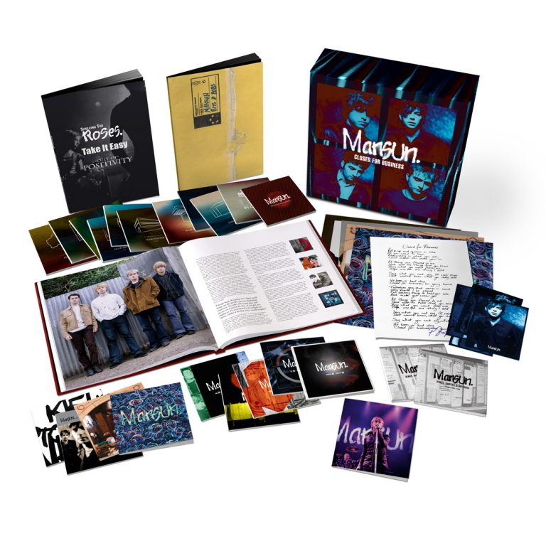 Buy Online Mansun - Closed For Business - 25th Anniversary 25-Disc Deluxe Boxset
