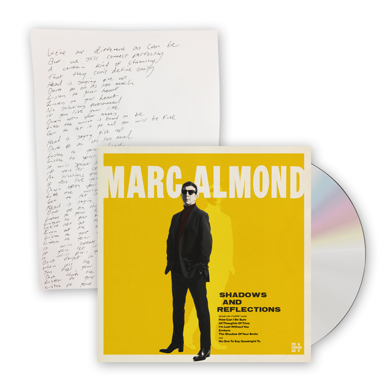 Buy Online Marc Almond - Shadows And Reflections Deluxe (w/ Signed Lyric Sheet)