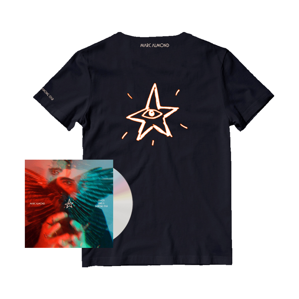 Buy Online Marc Almond - Chaos And A Dancing Star CD Album + T-Shirt