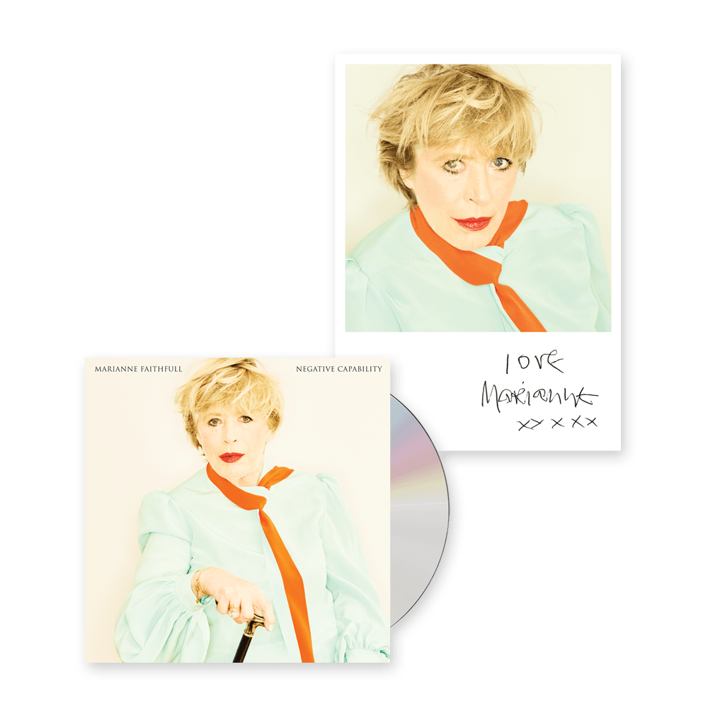 Buy Online Marianne Faithfull - Negative Capability Deluxe + Exclusive Print