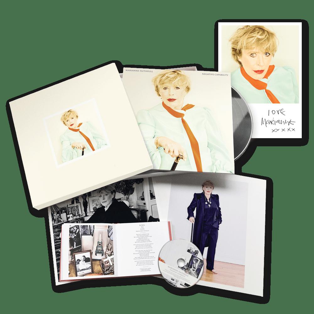 Buy Online Marianne Faithfull - Negative Capability Boxset + Exclusive Print