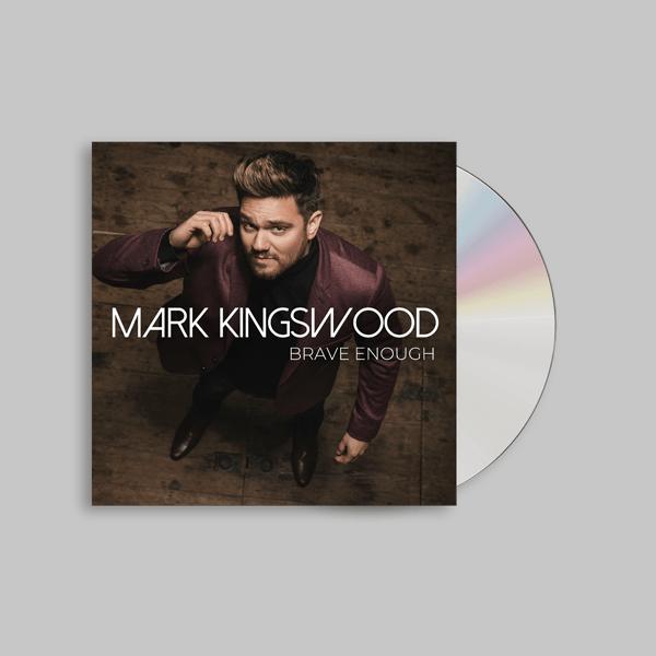 Buy Online Mark Kingswood - Brave Enough CD