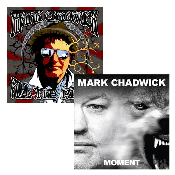 Buy Online Mark Chadwick - Moment LP (Signed) (w/ Exclusive 4-Track Bonus EP) + All The Pieces LP