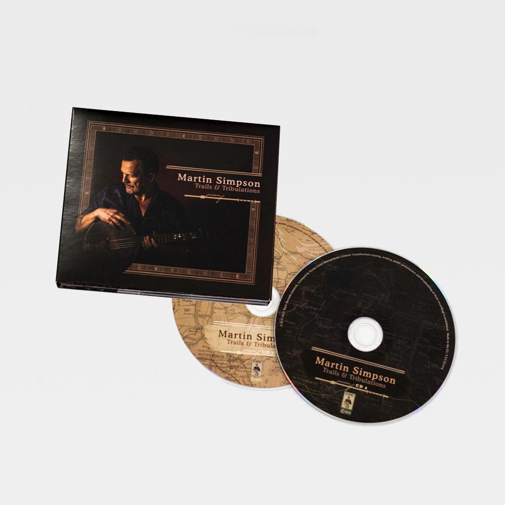 Buy Online Martin Simpson - Trails & Tribulations Deluxe 2CD Album (19 Tracks)