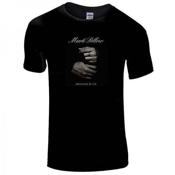 Buy Online Marti Pellow - Boulevard Of Life Hands Men's T-Shirt