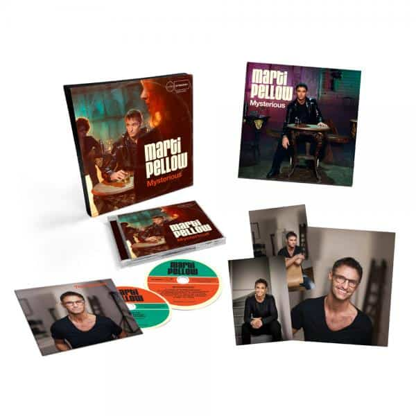 Buy Online Marti Pellow - Mysterious Boxset (Signed)