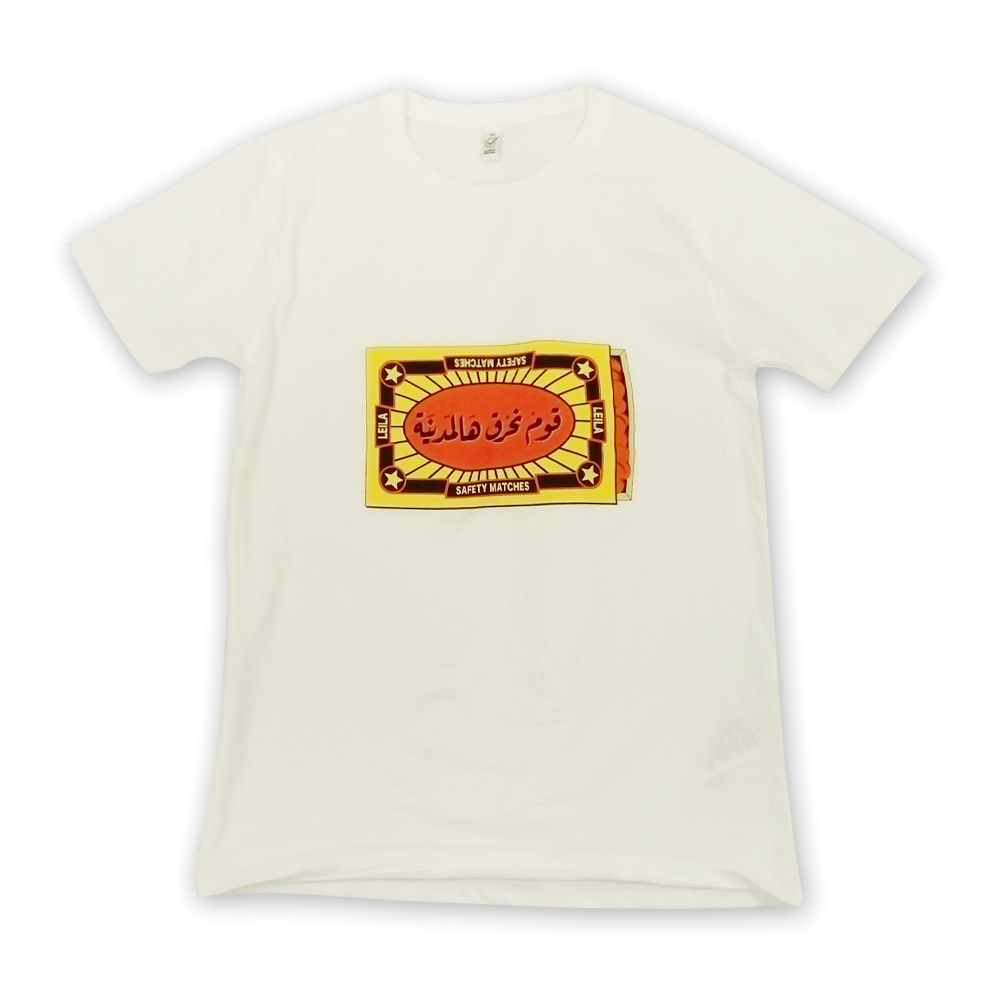 Buy Online Mashrou Leila - Matchbox T-Shirt